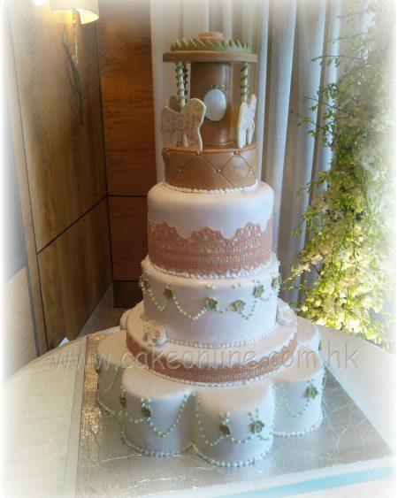 5 Layers Wedding Cake特式結婚蛋糕結