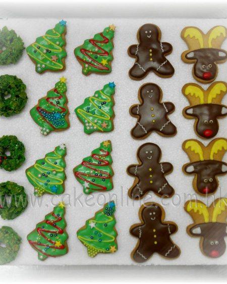 Handmade Christmas Cookies七彩聖誕曲奇