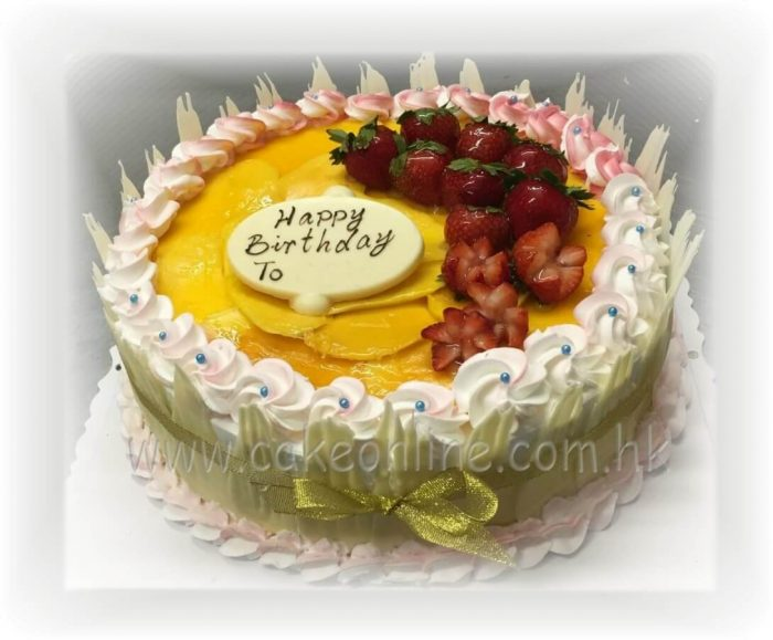 Mango Delight Cake鮮芒果忌廉蛋糕